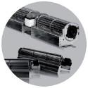 Ventilateur tangentiel avec ventilateur à ailette Ø 45mm