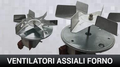 Ventilatori assiali per forni