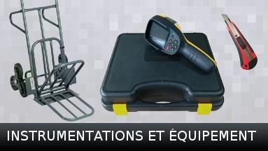 Instrumentations et équipement