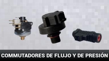 Commutadores de flujo y de presión