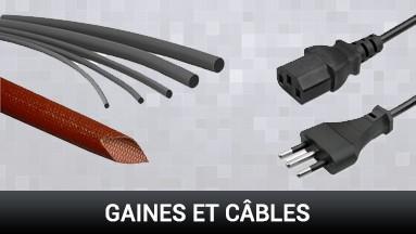 Gaines et câbles