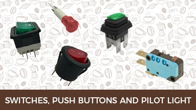 Switches, Push Buttons and Pilot Light