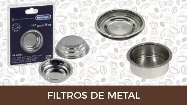 Filtros de metal