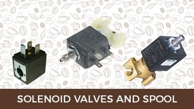 Solenoid valves and spool