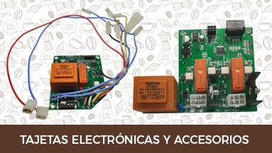 Tajetas electrónicas y accesorios
