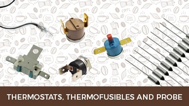 Thermostats, thermofusibles and probe