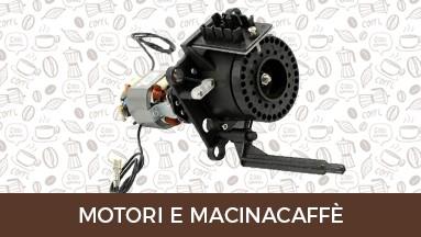 Motori e macinacaffè